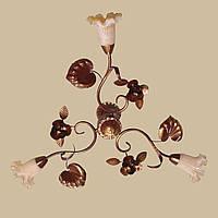Подвесная люстра в стиле флористика 172/3 С