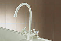 Telma Смеситель Telma MON 20-28 Milk White для кухни гранит
