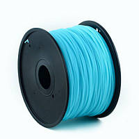 Пластиковый материал филамент gembird 3dp-abs1.75-01-lb для 3d-принтера abs 1.75 мм Светящийся синий