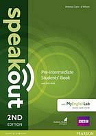 Speakout 2nd Pre-Intermediate SB+DVD My English Lab