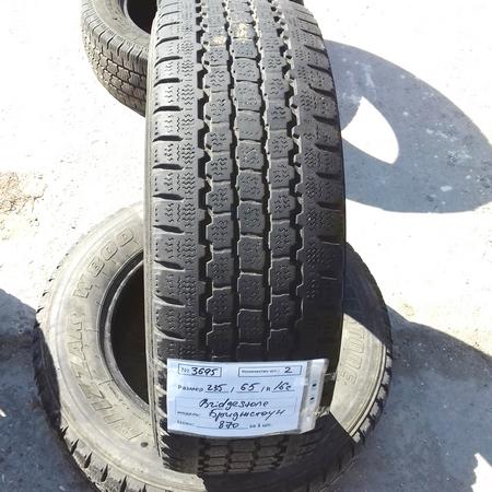 Бусовские шины б.у. / резина бу 235.65.r16с Bridgestone Blizzak W800 Бриджстоун
