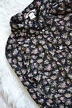 Шифоновая блузка в цветочный принт H&M, фото 2