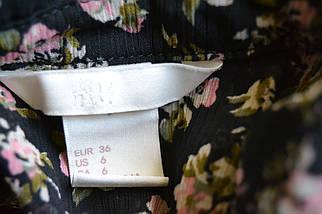 Шифоновая блузка в цветочный принт H&M, фото 3