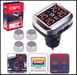 Датчики давления в колесах SPY/TPMS-V3 серый