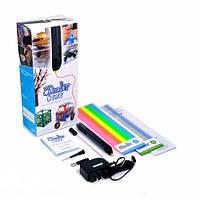 3D-ручка 3Doodler Create - ЧЕРНАЯ (50 стержней из ABS-пластика, аксессуары)