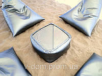 Куб-стол из ткани