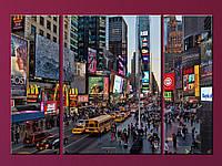 """Модульна картина """"Times Square"""", фото 1"""