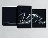 "Модульная картина ""Лебедь"", фото 1"