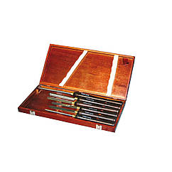 Комплект стамесок для токарной обработки древесины H6TLG Holzmann