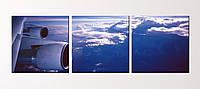 """Модульна картина """"Над хмарами"""", фото 1"""