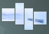 """Модульная картина """"Туманное утро"""", фото 1"""