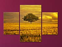 Модульная картина Золотой пейзаж, фото 1