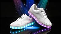 Светящиеся кроссовки, LED.