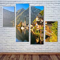 """Модульна картина """"Австрійські Альпи"""", фото 1"""