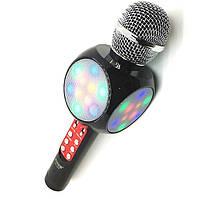 Беспроводной Bluetooth микрофон караоке WSTER WS-1816