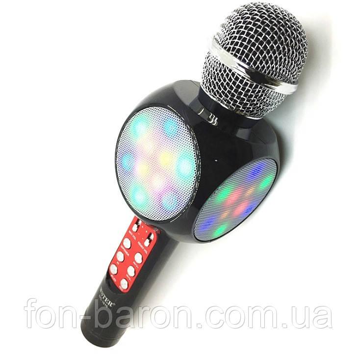 Беспроводной Bluetooth микрофон караоке WSTER WS-1816 - Fon-Baron - Магазин портативной техники и электронники в Одессе