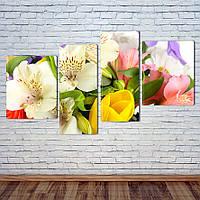 Модульная картина Букет цветов, фото 1