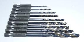 Сверло по металлу с шестигранным хвостовиком 1/4″ RapidE