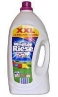 Гель бесфосфатный из Германии Weiber Riese color 5.11л - жидкий порошок универсал для стирки