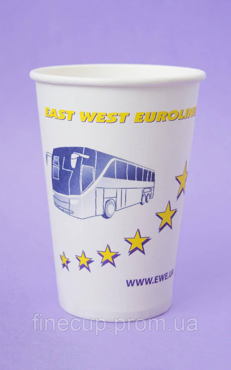 """Взірець індивідуального замовлення """"East West Eurolines"""" 340 мл"""