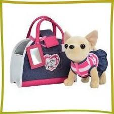 Мягкие игрушки,собачки в сумочках