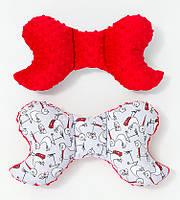 Подушка – позиционер детская BabySoon Аисты 32 х 24 см цвет красный (331)