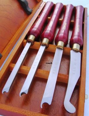 Комплект стамесок (ножей, резцов) по дереву ADSRS4TLG Holzmann