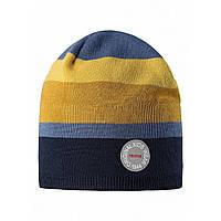 Демисезонная шапка для мальчика Reima 528540-698A . Размеры  50-56.