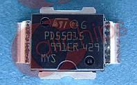 MOSFET ВЧ N-канал 15Вт 500МГц STM PD55015-E PowerSO-10RFF