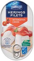 Филе сельди Herings Filets Tomaten-Creme, 200 г (Германия)
