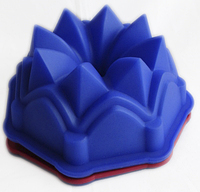 """Силиконовая форма для пирога """"Кристалл"""""""