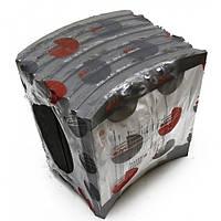 Комплект накладок тормозных SNF420x203,2mm ( 19477 01 ) (оригинал SAF) 19478 01, 3057396610