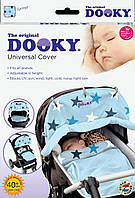 Защитная накидка на коляску и автокресло Dooky Baby Blue Stars