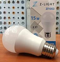 Светодиодная лампа Z-Light 15W E27 4000K (нейтральный белый свет)