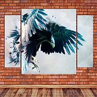 """Модульная картина """"Полет орла"""", фото 1"""