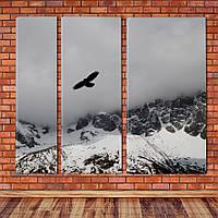 """Модульная картина """"Полет"""", фото 1"""