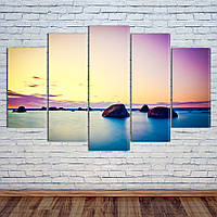 "Модульная картина ""Восход над Океаном"", фото 1"