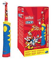 Электрическая зубная щетка Oral-B Braun детская D10.513