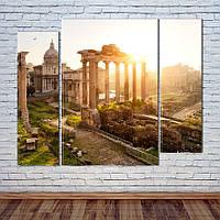 "Модульная картина ""Рим, Италия"", фото 1"