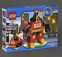 Конструктор QS08 Робокар Поли (Robocar Poli) 48003 Рой 2в1