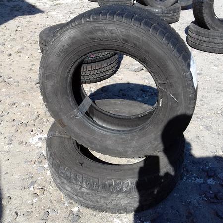 Бусовские шины б.у. / резина бу 215.75.r16с Nokian WRS Нокиан