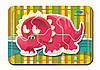Деревянный паззл, 6 деталей «Динозавр-2»