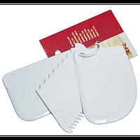 Шпателя для мастики набор из 3х