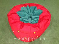 Кресло клубника из ткани