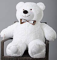 Медведь большой, мягкий ( белый ) 110 см, фото 1