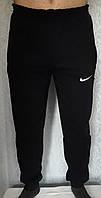 Теплые спортивные мужские штаны с манжетами, трикотаж на флисе