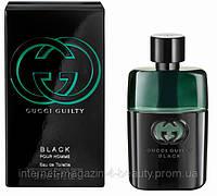 Мужская туалетная вода Gucci Guilty Black Pour Homme edt 90 ml