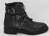 Ботинки женские зимние Molly Bessa_021.1130_3 черная кожа