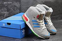Мужские зимние высокие кроссовки Adidas ZX 750