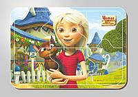 Деревянный паззл, 6 элементов, Серия «Урфин Джюс и его деревянные солдаты»